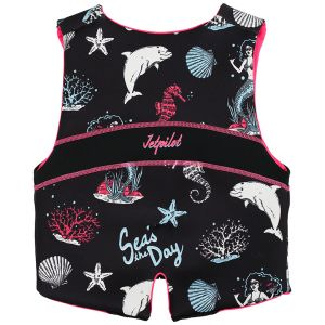 Jetpilot Cause Youth ISO 50N Neo Vest Girls