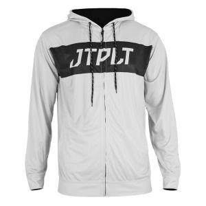 Jetpilot Hyped L/S front zip hooded Rashie