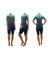 Jetpilot Flight S/S 2mm Springsuit wms.