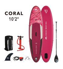 Aqua Marina Coral 2021 310 x 78 x 12 Damen SUP