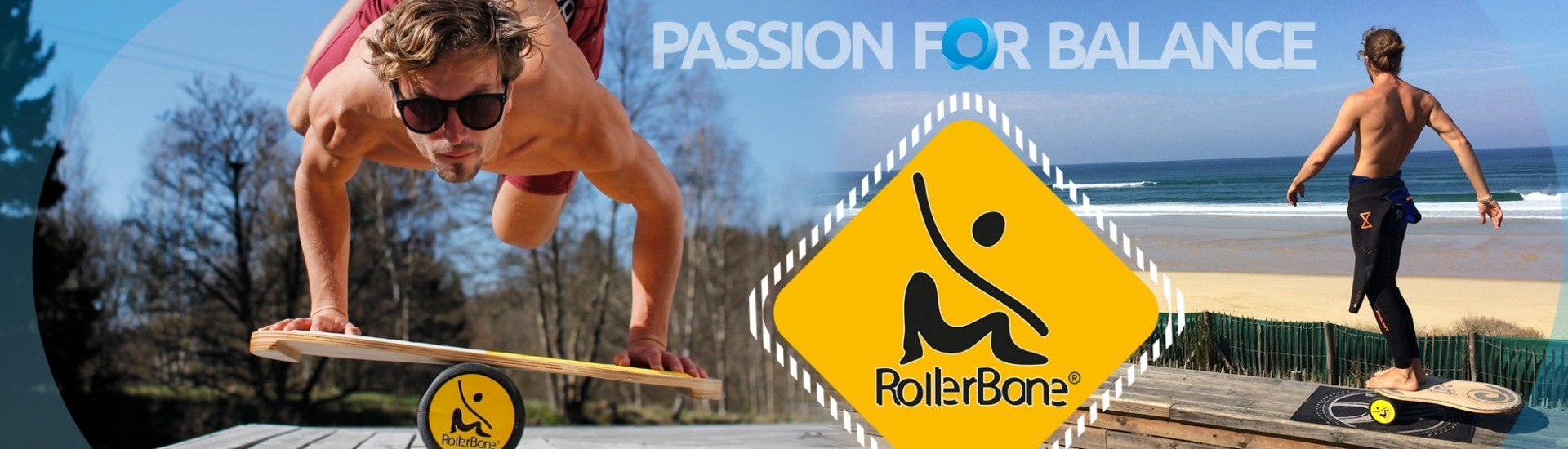 RollerBone Balance Boards