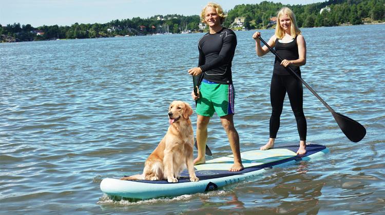 Aqua Marina Super Trip - Das Familien SUP / Super Größe für viel Spaß…